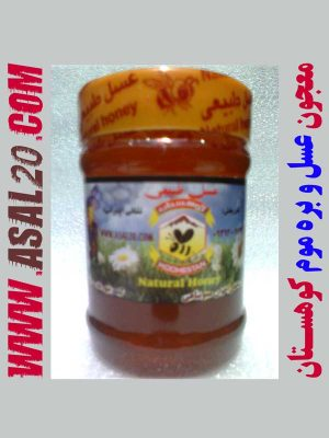 معجون طبیعی عسل و بره موم
