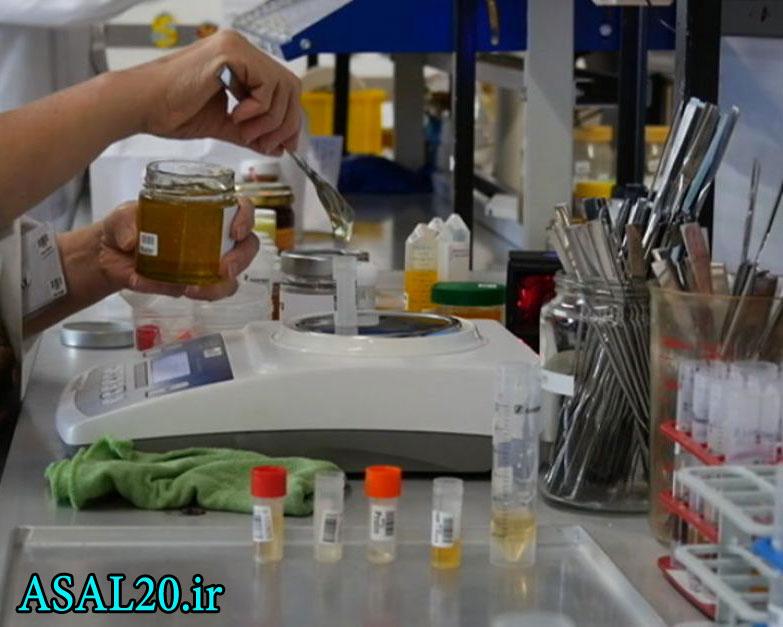 تشخیص عسل طبیعی و تقلبی در آزمایشگاه عسل تعیین ساکاروز
