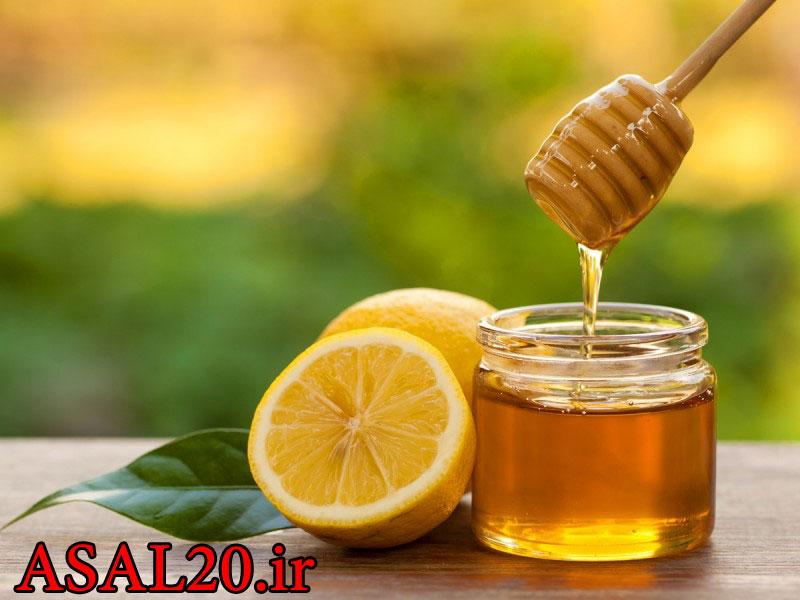 خواص عسل و لیمو ترش