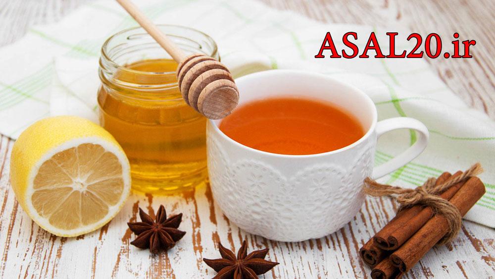 عسل کوهستان: عسل درمانی با عسل و دارچین و لیمو