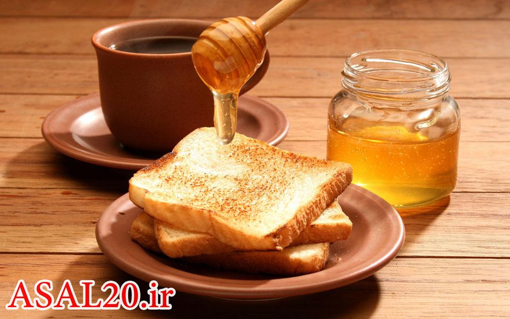روش تشخیص عسل طبیعی و تقلبی با نان تست